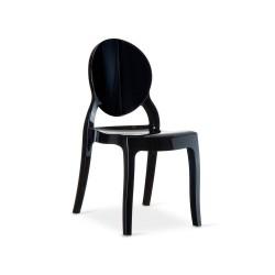 Sedia design moderno : Luna Nera