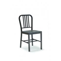Sedia con struttura in metallo galvanizzato e verniciato simply