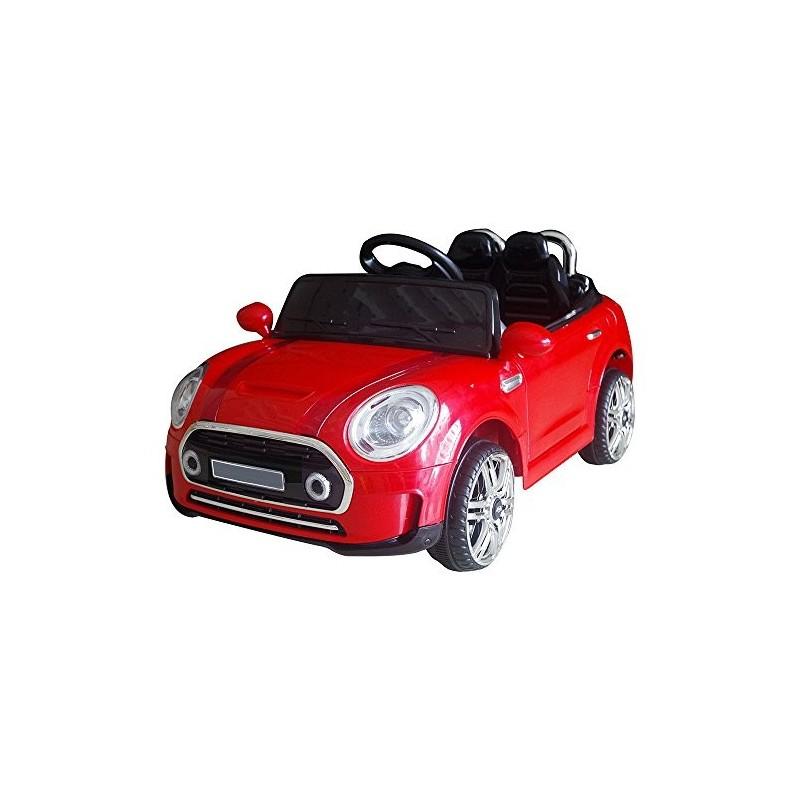 Auto Macchina Elettrica Mini Rally Coupè Rosso 12v Per Bambini