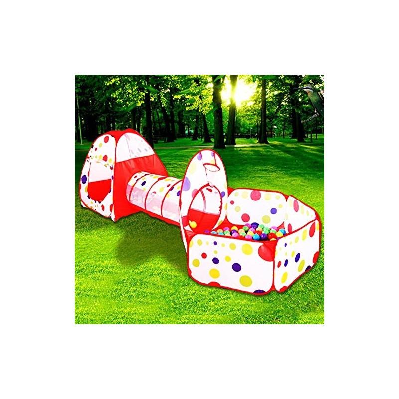 MAIKEHIGH Tenda da Gioco per Bambini Tenda da Gioco per Bambini Tenda da Giardino Pieghevole da Piscina Bambini per Interni//Esterni Senza Palle