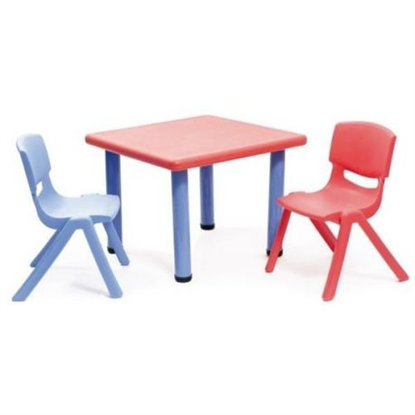 Tavolino Strong, Rosso e Blu