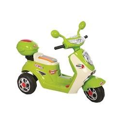 Moto Elettrica 6volt Scooterone Verde 106x49x76