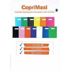SET 12 COPERTINE COLORATE PER MAXIQUADERNI PVC FREE + OHPEN STABILO