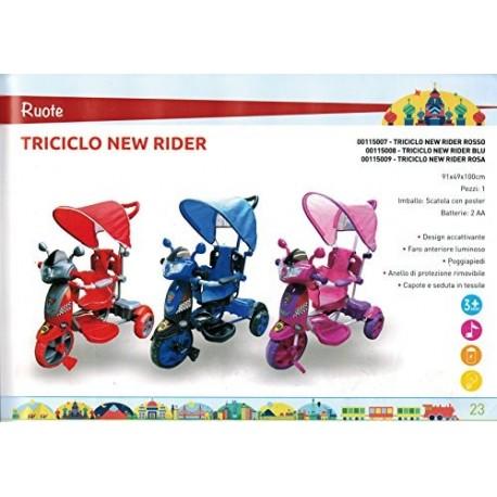 Triciclo New Rider, Rosso