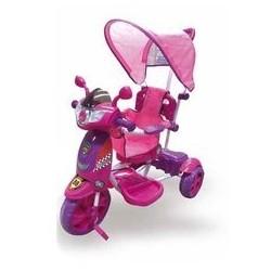 Triciclo New Rider, Rosa per bambini Dugez