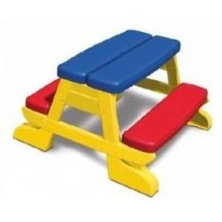 Tavolo Da Pic-Nic Per Bambini Da Giardino Tavolino Bimbi Arredo Panca