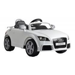 Auto Elettrica Audi TT 12volts Radiocomandata bianca