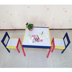 Set Tavolo Sedie Rainbow Lavabili Da Disegno Gioco Per Bimbi Bamb