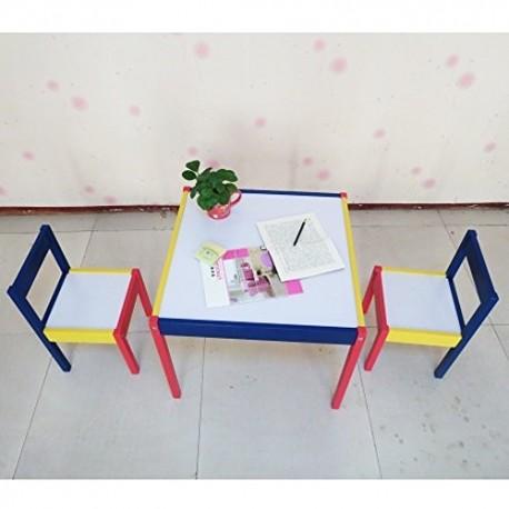 Set tavolo sedie rainbow lavabili da disegno gioco per - Tavolo sedie bimbi ...