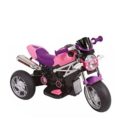 Moto Naked Rosa Elettrica