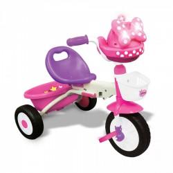 Triciclo Minnie Pieghevole con Luci e Suoni per Bambini Dugez