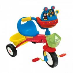 Triciclo Topolino Mickey Pieghevole con Luci e Suoni per Bambini Dugez