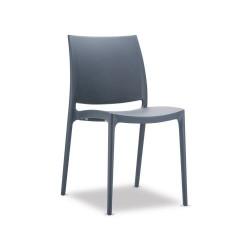 Sedia stile moderno - mod ginevra - colore Nera